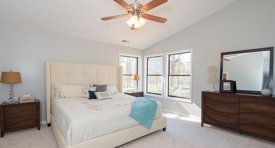 HR Staging and Design - Atlanta GA - Bedroom Staging Atlanta