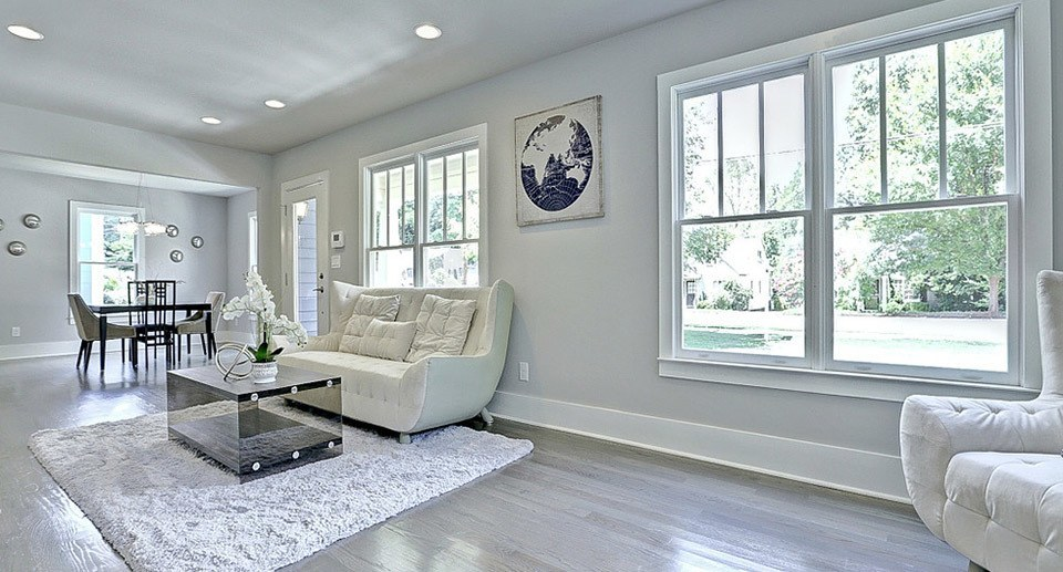 HR Staging and Design - Atlanta GA - Living Room Staging